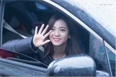 Blackpink Jisoo Car Photos Leaving Inkigayo 5 February 2017