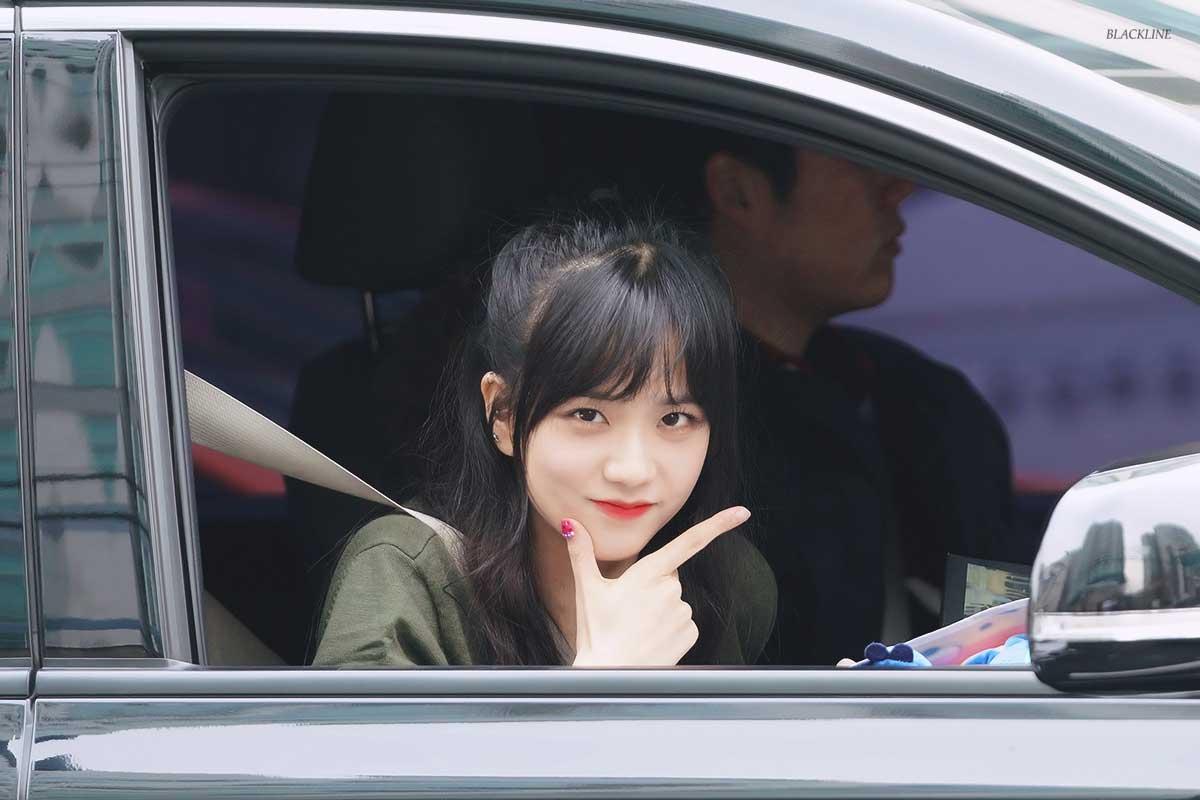 Blackpink Jisoo Car Photos Ingkigayo