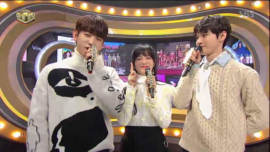 Blackpink Jisoo MC Inkigayo 7 January 2018