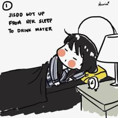 BLACKPINK Jisoo Rose Short comic 1