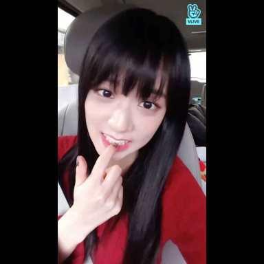 Jisoo car photos inkigayo
