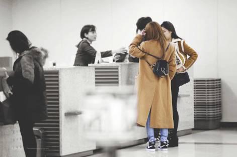 Blackpink Rose Jennie Airport Fashion GMP