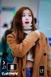 Blackpink Rose Haneda Airport Japan