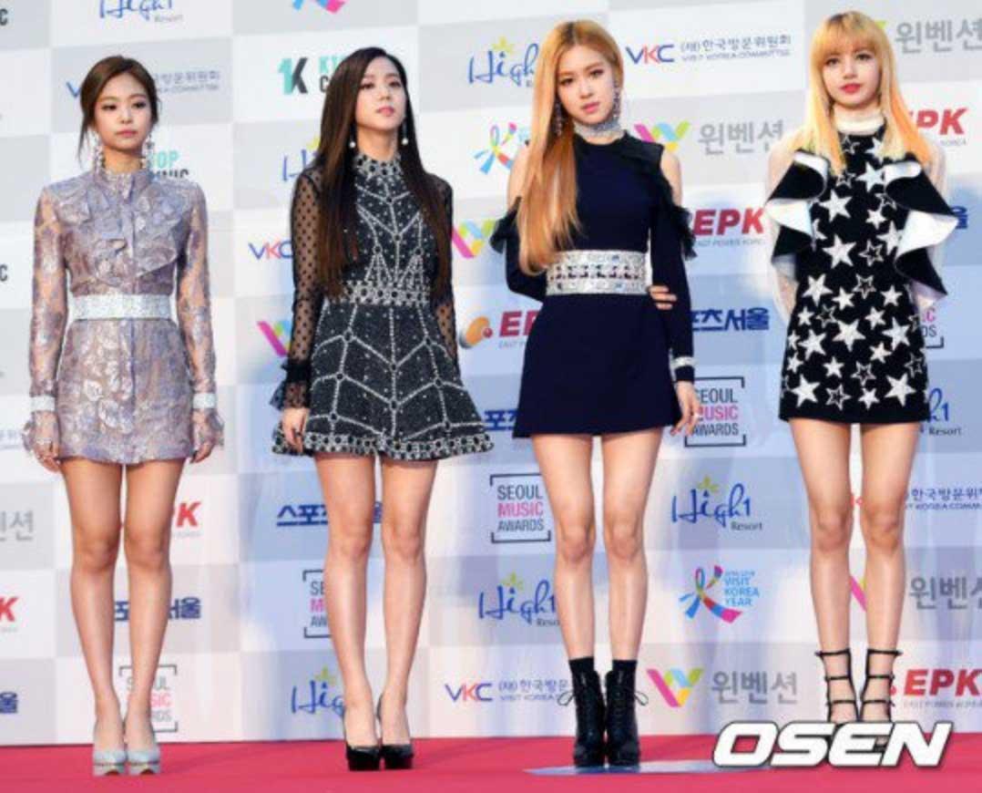 Blackpink Seoul Music Awards red carpet