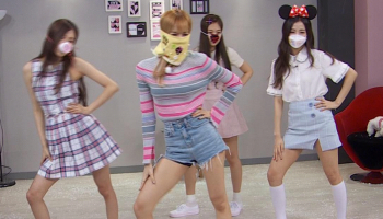 Blackpink Wearing mask