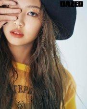 Jennie Dazed Korea 3