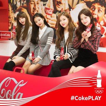 Blackpink Coca Cola Coke Play 2018