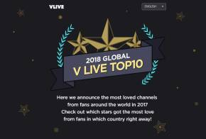 Blackpink-Global-Vlive-Top-10