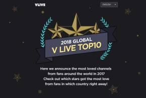 Blackpink-Global-Vlive-Top-10