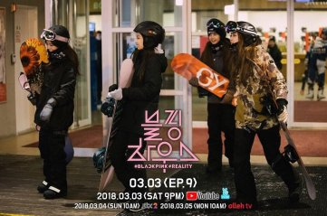 Blackpink House Episode 9 Snowboard