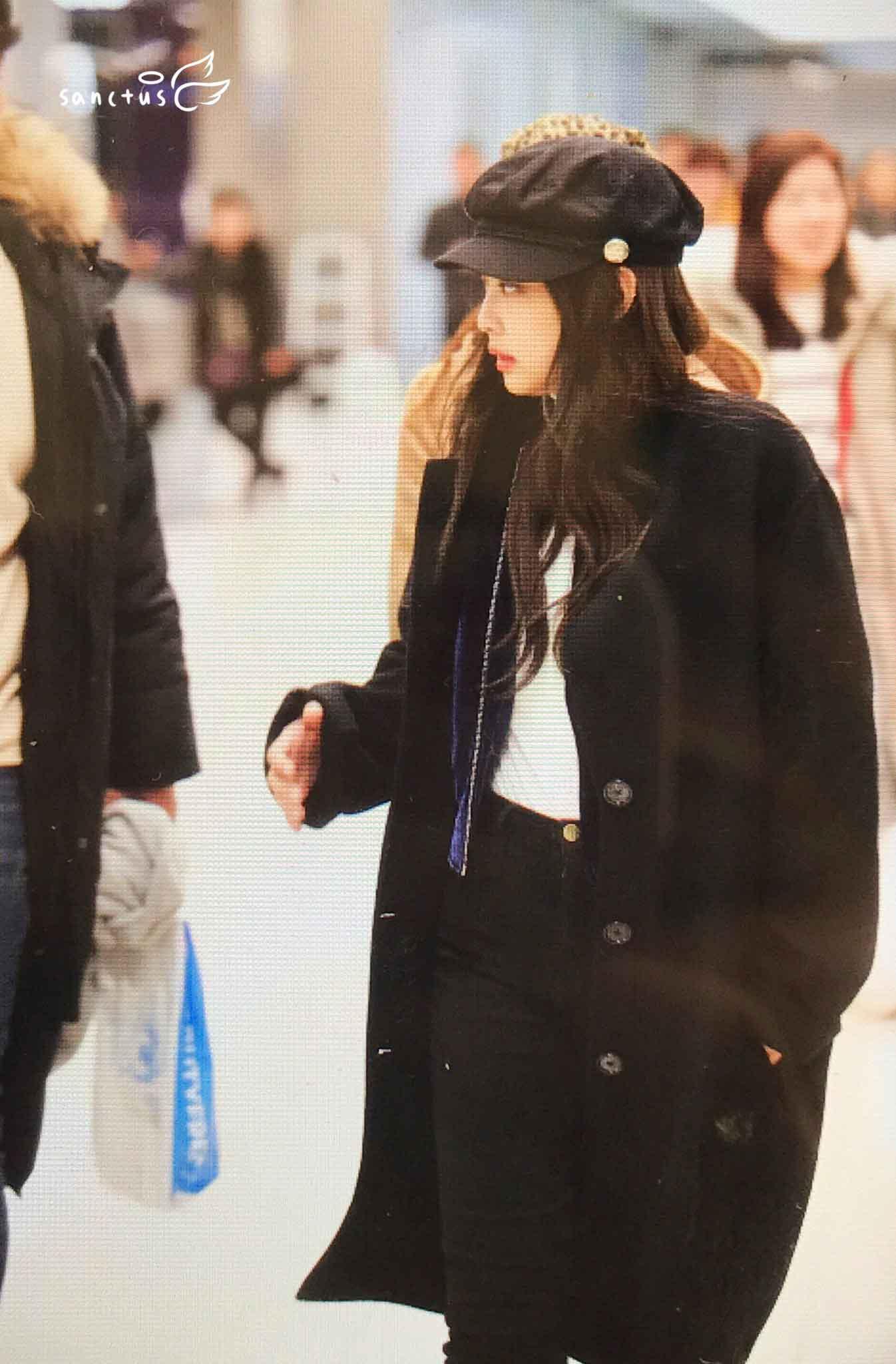 Blackpink Jennie Winter Airport Style From Jeju Island