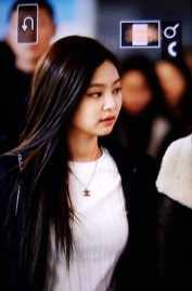 Blackpink Jennie Winter Airport Style Jeju Island 2018