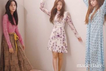 Blackpink Jisoo Jennie Lisa Marie Claire Magazine March 2018