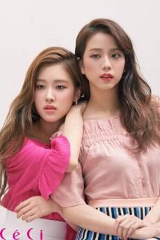 Blackpink Jisoo Rose Ceci Korea Magazine 2018