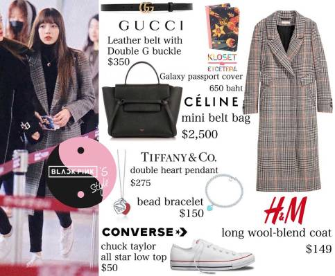 Blackpink Lisa Airport Fashion To Jeju Island