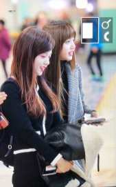 Blackpink Jisoo Lisa Winter Airport Style Jeju Island 2018