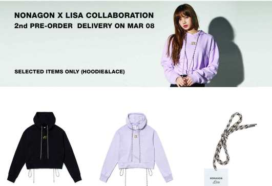 Blackpink-Lisa-Nonagon-Collection-Second-Pre-Order-2018