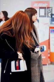 Blackpink Lisa Winter Airport Style Jeju Island