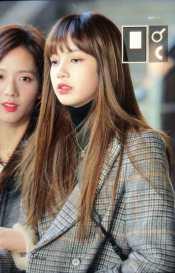 Blackpink Lisa Winter Airport Style Jeju Island 2018
