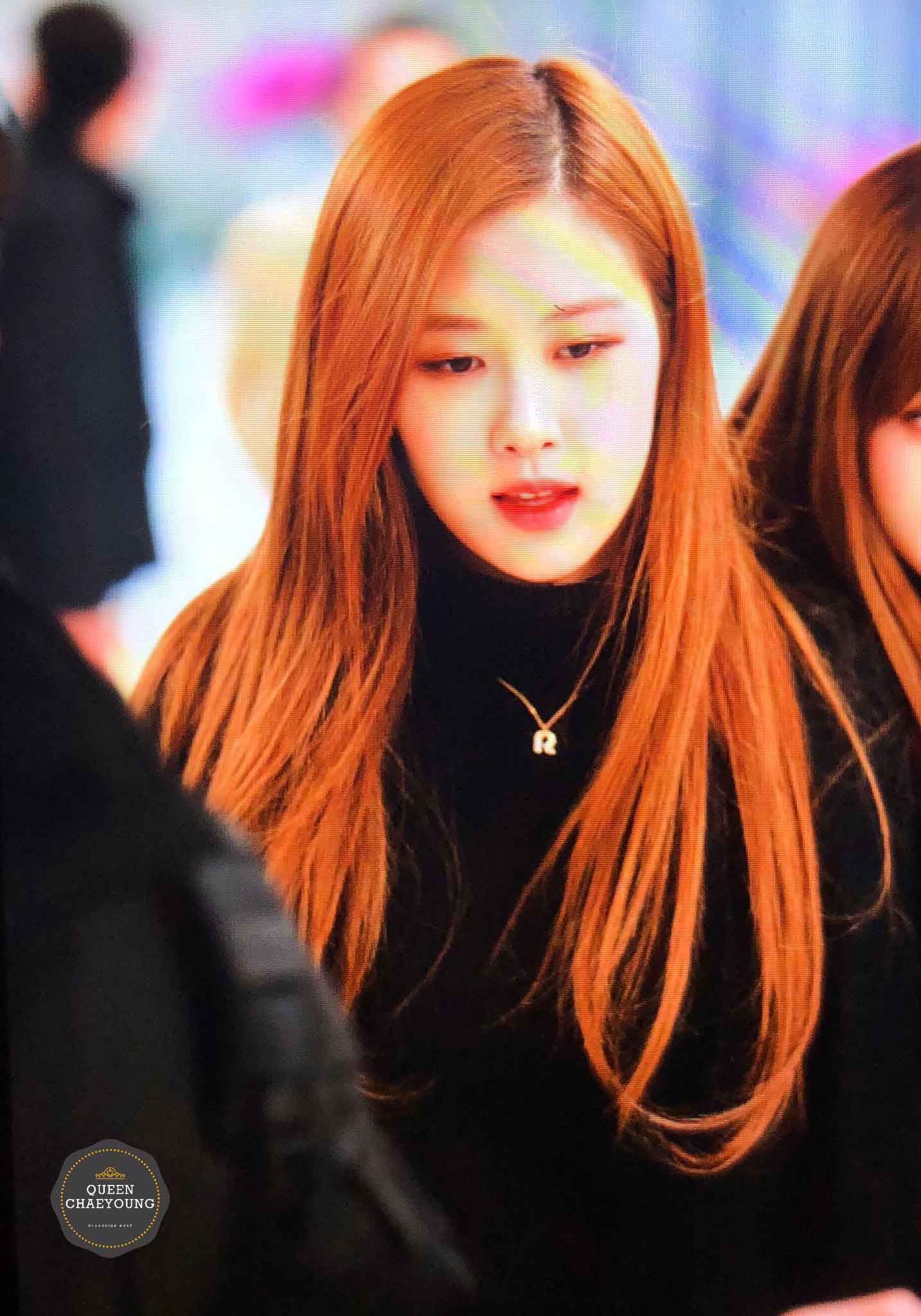 Blackpink Rose Winter Airport Style From Jeju Island