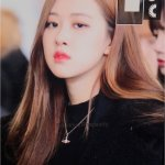 Blackpink Rose Winter Airport Style Jeju Island