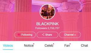 Blackpink Vlive Channel