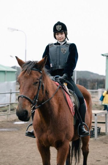 Blackpink Jennie Horse Riding Jeju Island
