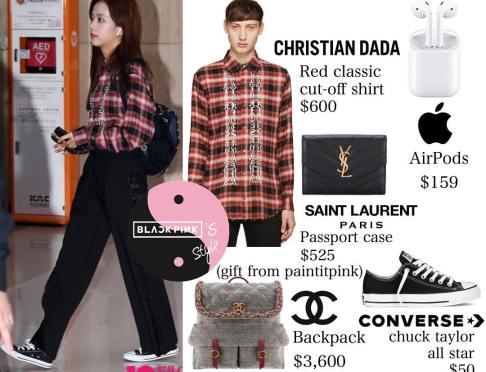 Blackpink-Jisoo-Airport-Fashion-Outfit