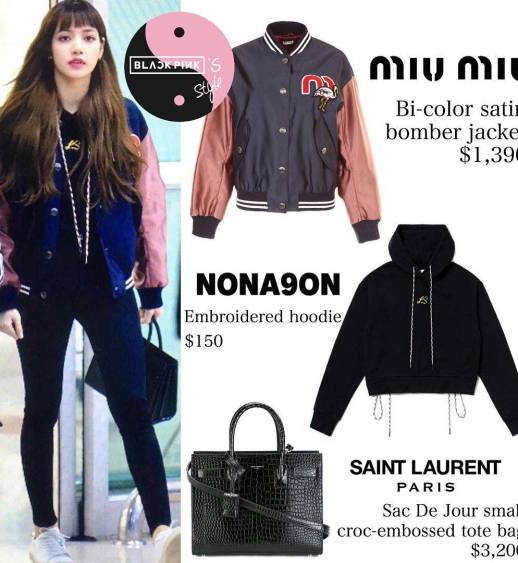 Blackpink-Lisa-Airport-Fashion-Outfit