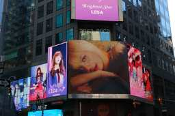 Blackpink Lisa Birthday 2018 Times Square Ads