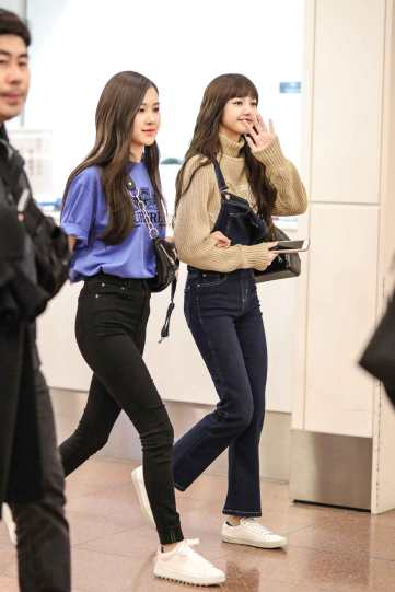 Blackpink-Rose-Lisa-Chaelisa-Airport-Fashion-Haneda-Japan
