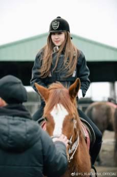 Weibo-Blackpink-Rose-Horse-Riding-Jeju