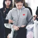 Blackpink Jennie Airport Fashion 26 March 2018