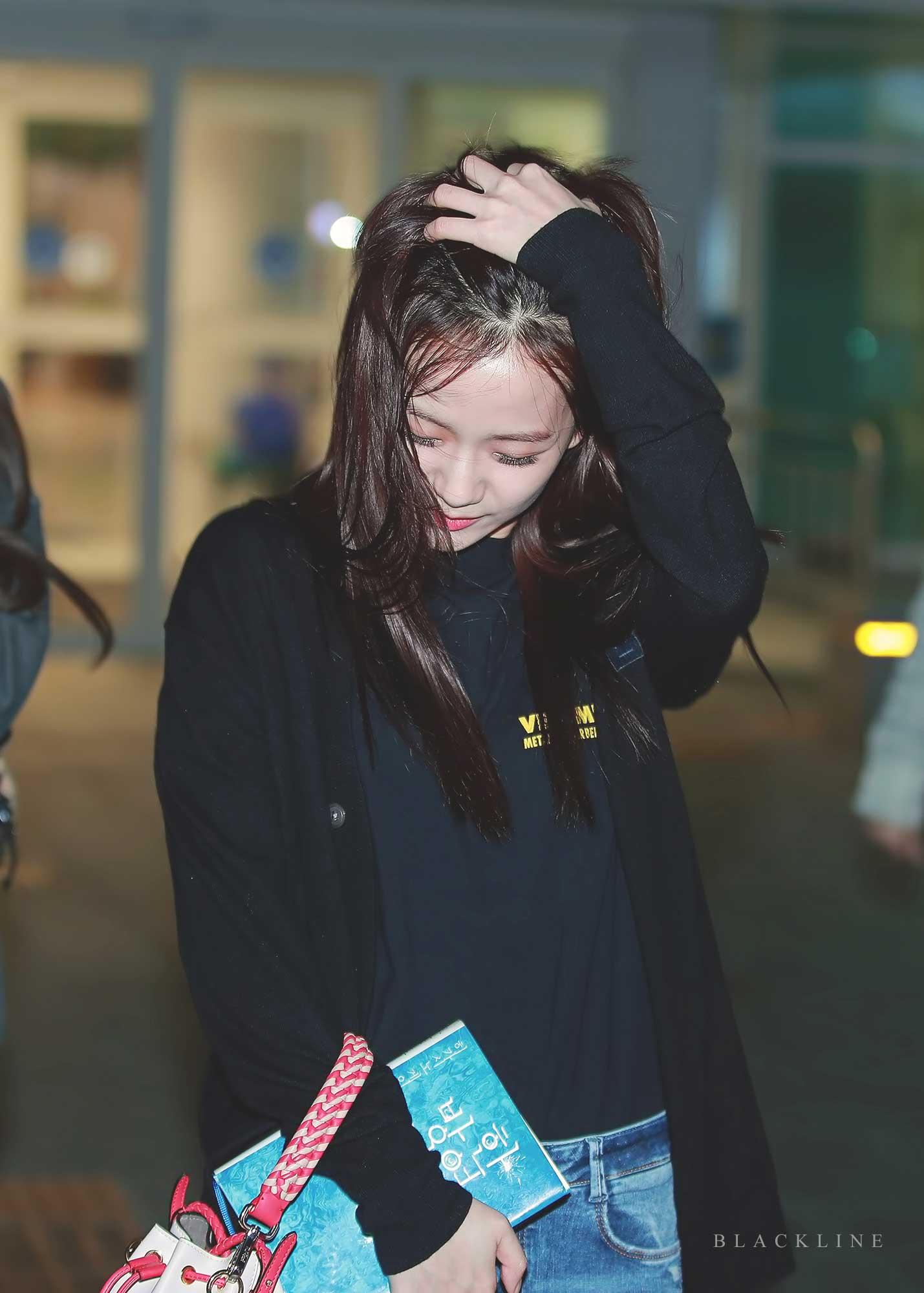 Blackpink Jisoo Airport Fashion 5 April 2018 Incheon