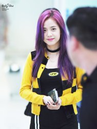 Blackpink Jisoo Airport Fashion 7 August 2017
