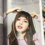 Scan Blackpink Lisa Mini Japan Magazine June 2018 Issue