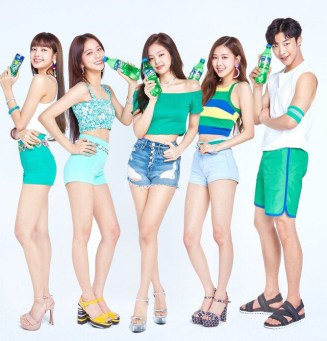 BLACKPINK SPRITE COMMERCIAL 2018