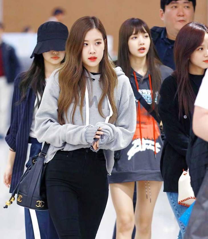 Blackpink Airport Fashion 5 April 2018 Incheon