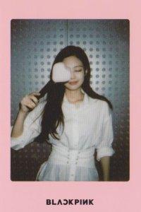 Blackpink Jennie Light Stick Photo Cards pink version