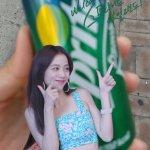 BLACKPINK Jisoo Sprite Coke Play App Photo