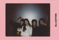 Blackpink Light Stick Photo Cards pink version
