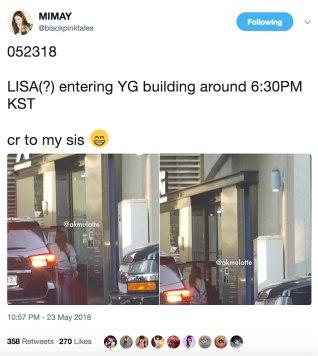 BLACKPINK-Lisa-3-YG-Building-23-May-2018