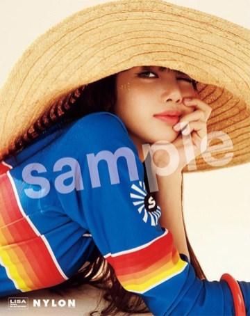BLACKPINK LISA NYLON JAPAN MAGAZINE JULY 2018 ISSUE