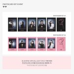 Blackpink Official LightStick photocards
