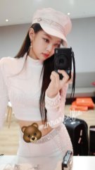 BLACKPINK-Jennie-Instagram-Photo-white-outfit-Music-Core-behind-the-scenes