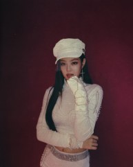 BLACKPINK Jennie Instagram Photo white outfit Music Core