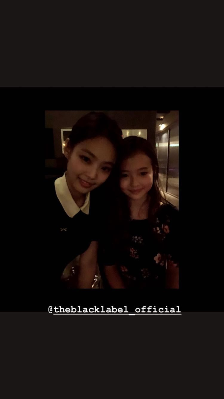 Blackpink Jennie Ella Gross Instagram photo