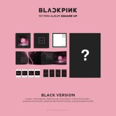 BLACKPINK Album Square Up Photos and Details Contents Black Version