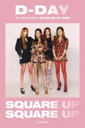 Blackpink D Day Poster Square Up