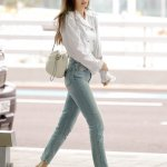 Blackpink Jennie Incheon Airport 6 June 2018 Off to France for Chanel Perfume Launching